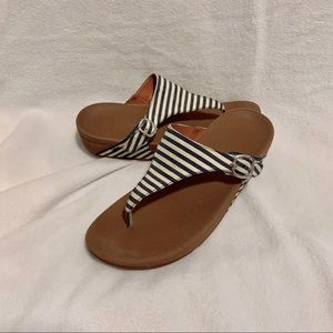FITFLOP The Skinny Flip Flop Sandals Sz 10 M